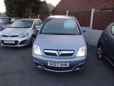 used Vauxhall Meriva 1.4 i 16v Club 5dr