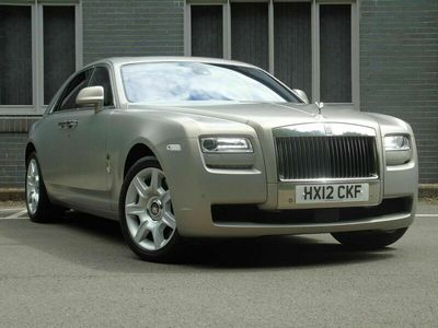 used Rolls Royce Ghost 6.6 4dr