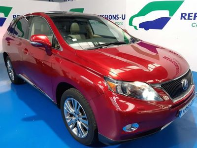used Lexus RX450h 3.5 Advance CVT 4x4 5dr (Pan roof)
