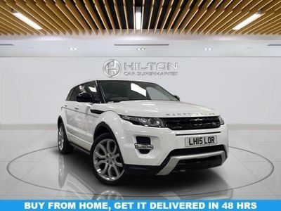 used Land Rover Range Rover evoque 2.2 SD4 DYNAMIC LUX 5d 190 BHP