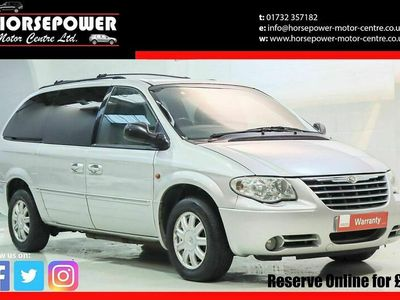 used Chrysler Grand Voyager Estate 2.8 CRD Limited 5d Auto