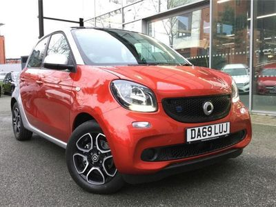 used Smart ForFour Electric Drive HATCHBACK null