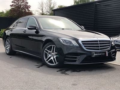 used Mercedes S350 S ClassL AMG Line Executive 4dr 9G-Tronic diesel saloon