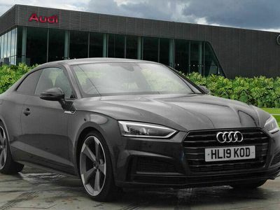 used Audi A5 Coupé Coup- Black Edition 40 TFSI 190 PS 6-speed