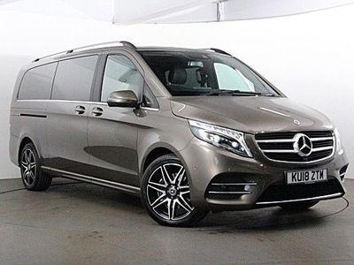 used Mercedes V250 V Class 2.2AMG Line G-Tronic+ XLWB EU6 (s/s) 5dr 8 Seat XLWB