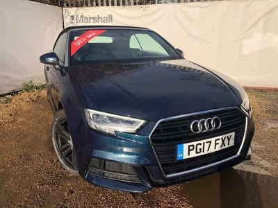 used Audi A3 Cabriolet 1.6 TDI S Line 2dr Convertible 2017