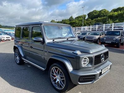 used Mercedes G63 AMG G-Class 4.0 AMG4MATIC 5d 577 BHP Carbon Fibre Package