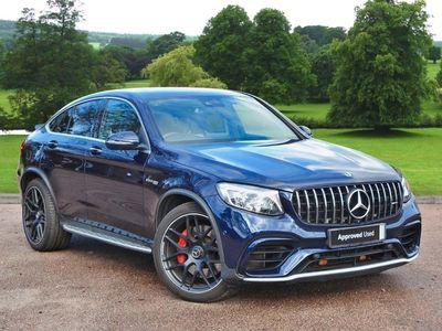 used Mercedes GLC63 AMG GLC CoupeS 4Matic Premium 5dr 9G-Tronic SUV 2018
