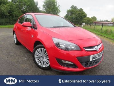 used Vauxhall Astra 1.4 ENERGY 5dr Low Insurance Spacious Family Car
