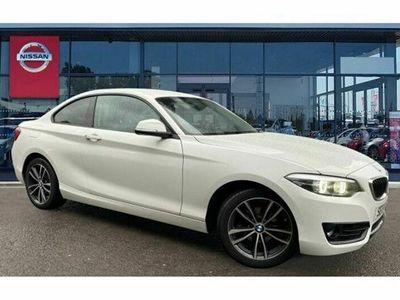 used BMW 218 2 Series i Sport 2dr [Nav]
