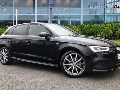 used Audi A3 Sportback Black Edition 35 TFSI 150 PS S tronic 1.5 5dr