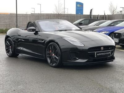used Jaguar F-Type 3.0 [380] Supercharged V6 R-Dynamic 2dr Auto Convertible 2019