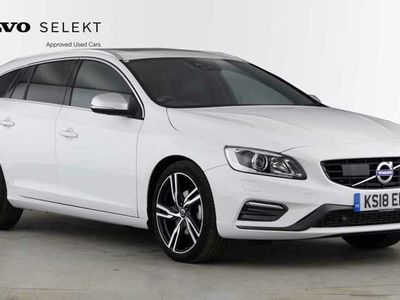 used Volvo V60 D4 R-Design Lux Nav Automatic (Heated Windscreen, Harmon Kardon Surround, Sunroof)