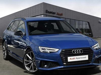 used Audi A4 35 TFSI Black Edition 5dr Estate 2019