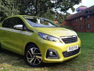 used Peugeot 108 1.0 72 Collection 5dr hatchback 2019