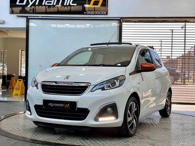 used Peugeot 108 1.2 PureTech Roland Garros Top! 5dr Petrol (82 ps)