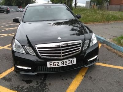 used Mercedes E200 E Class 2.1CDI BlueEFFICIENCY Sport 4dr