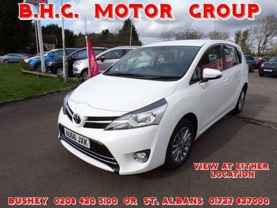 used Toyota Verso 1.6 V-Matic Icon Tss 5Dr