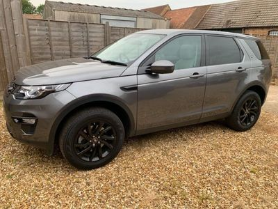 used Land Rover Discovery Sport 2.0 SD4 HSE Auto 4WD (s/s) 5dr 7 Seat