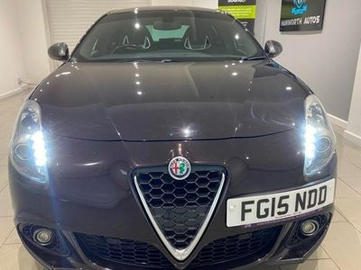 used Alfa Romeo Giulietta Hatchback 1.75 TBi Quadrifoglio Verde 5d TCT