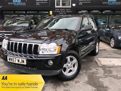 used Jeep Grand Cherokee V6 CRD LIMITED 3.0 5dr