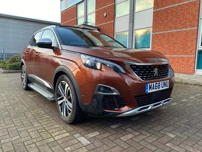 used Peugeot 3008 2.0 BlueHDi GT EAT (s/s) 5dr