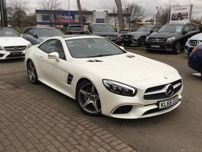 used Mercedes SL400 SL CLASS CONVERTIBLEAMG Line Premium 2dr 9G-Tronic