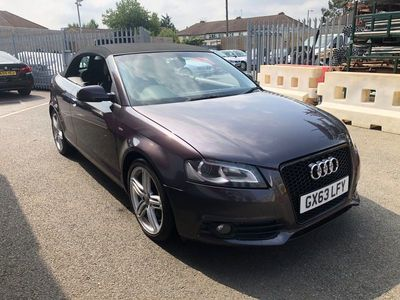 used Audi A3 Cabriolet Cabriolet 2.0 TDI S line Final Edition 2dr