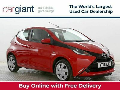 used Toyota Aygo 1.0 X-Play X-Shift 5dr