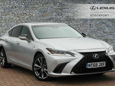used Lexus ES300H 2.5 F-Sport Tech & Safety Pack APPLE CARPLAY ULEZ Approved.