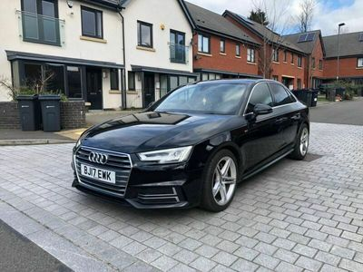 used Audi A4 2.0 TDI S line S Tronic quattro (s/s) 4dr