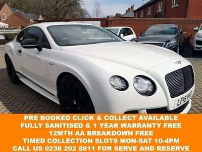 used Bentley Continental 6.0 GT SPEED 2d 616 BHP