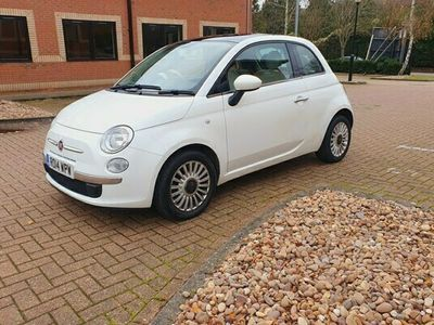 used Fiat 500 1.2 Lounge 3dr [Start Stop]