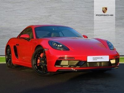 used Porsche Cayman 2.5 GTS 2dr PDK coupe