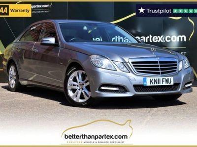used Mercedes E350 E-Class 3.0CDI BLUEEFFICIENCY AVANTGARDE 4d 265 BHP