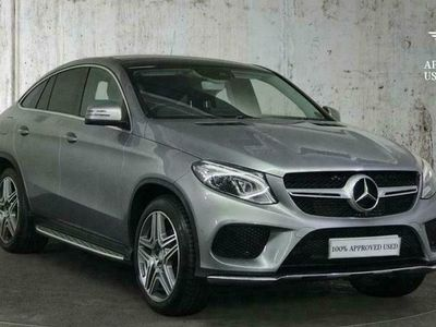 used Mercedes GLE350 GLE Class 3.0V6 AMG Line (Premium) G-Tronic 4MATIC (s/s) 5dr Coupe Gle diesel coupe