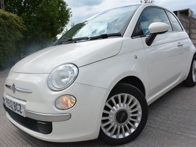 used Fiat 500 1.2 LOUNGE 3d 69 BHP FULL 12 MONTHS MOT*2 OWNER*PA