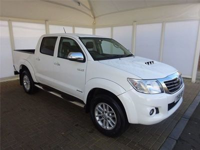 used Toyota HiLux Invincible D/Cab Pick Up 3.0 D-4D 4WD 171 Auto Double Cab Pick Up 2016