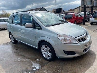 used Vauxhall Zafira EXCLUSIV