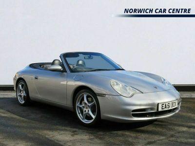 used Porsche 911 Carrera 4 Cabriolet 3.6 CARRERA 4 TIPTRONIC S 2d 316 BHP