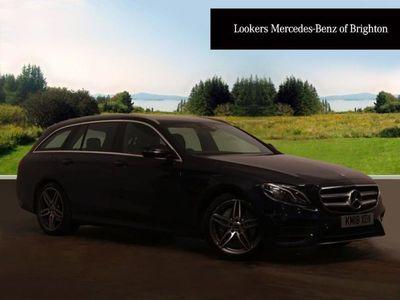 used Mercedes E220 E ClassAmg Line 5Dr 9G-Tronic Estate 2018