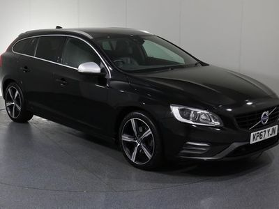 used Volvo V60 D3 R-Design Lux Nav Automatic ( Front & Rear Park Assist, Full Leather)