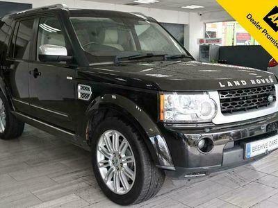 used Land Rover Discovery 3.0 SDV6 HSE LUXURY 5d 255 BHP 2 KEYS FSH SAT NAV REV CAM PAN ROOF