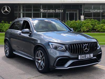 used Mercedes GLC63 AMG GLC ClassS 4Matic Premium 5dr 9G-Tronic Estate 2018