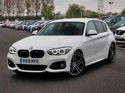 used BMW 118 1 Series i [1.5] M Sport Shadow Ed 5dr Step Auto Hatchback 2019