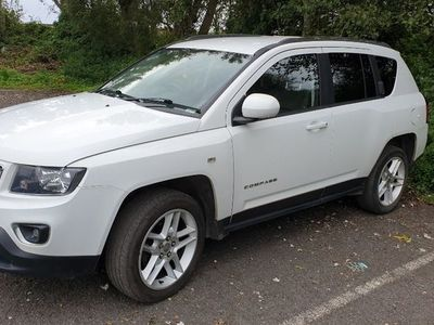 used Jeep Compass 2.2 CRD Limited 4x4 5dr