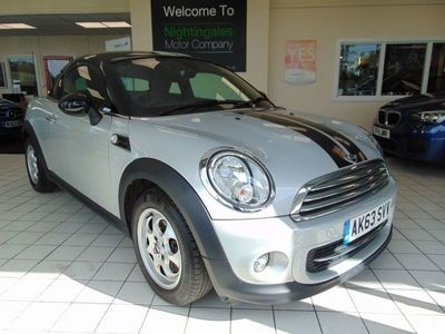 used Mini Cooper Coupé Coupe 1.6 2d 120 BHP 2014