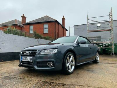 used Audi A5 Cabriolet 2.0T FSI S Line 2d