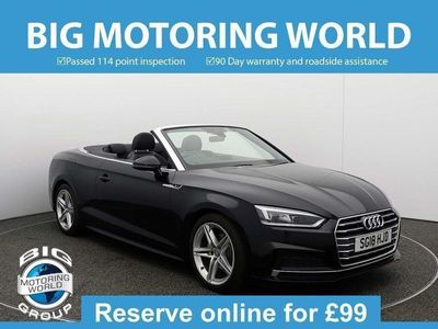used Audi A5 Cabriolet