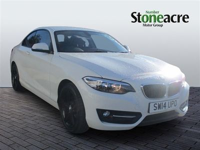 used BMW 218 2-Series d Sport 2dr